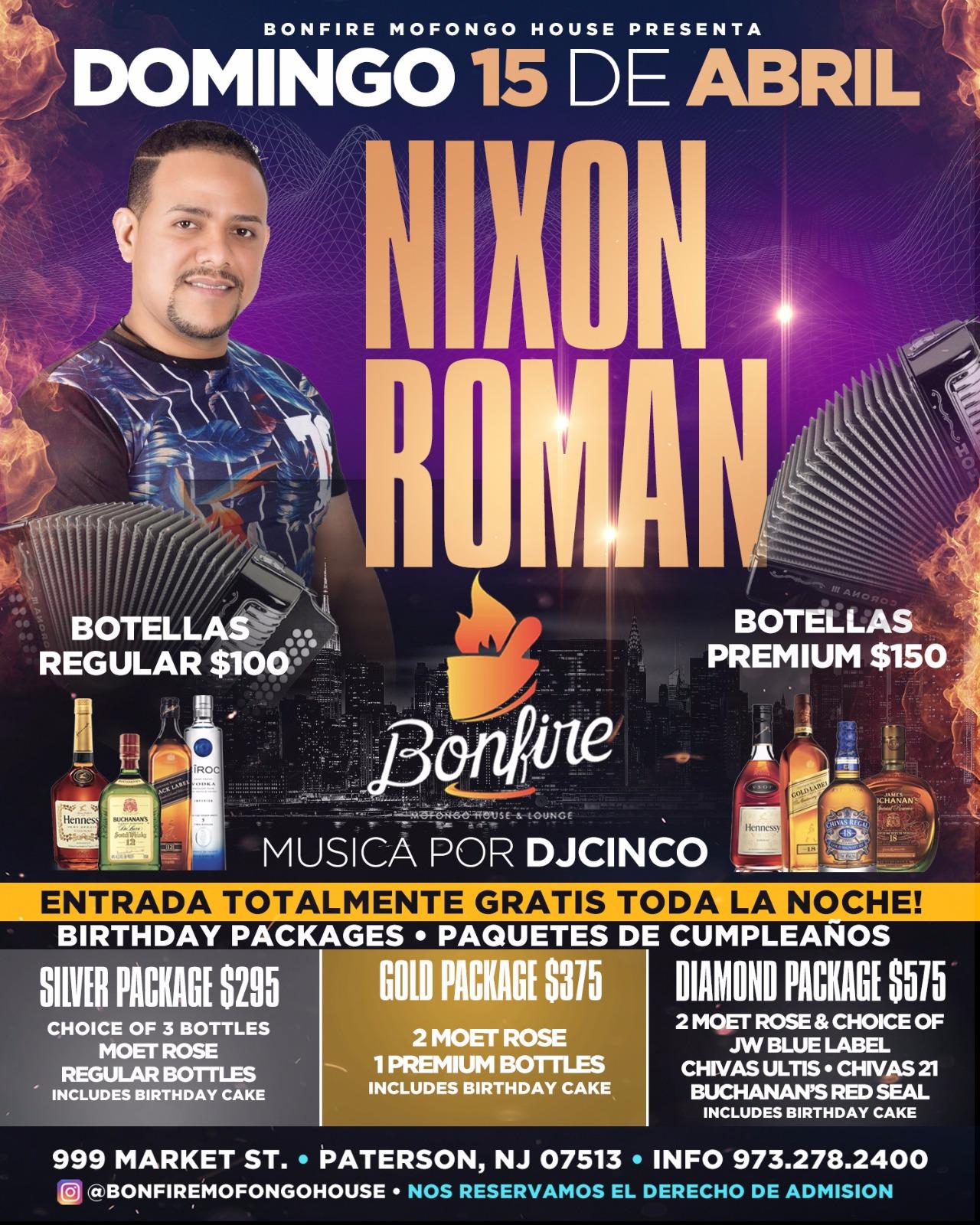 15 de Abril con NIXO ROMAN