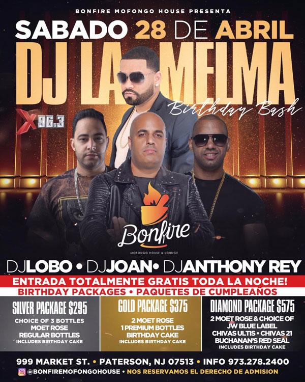 28 de Abril con DJ LA MELMA