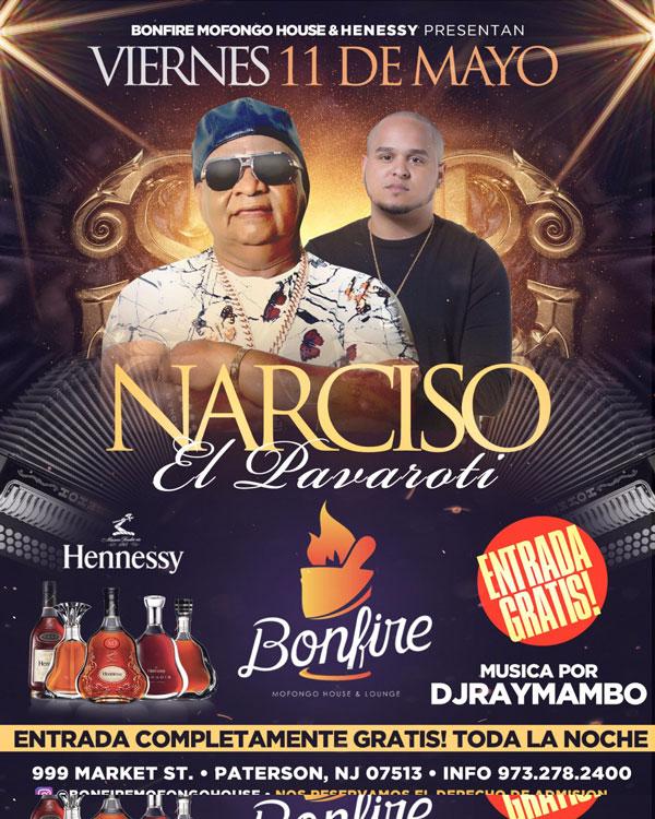 11 de Mayo con NARCISO El Pavaroti