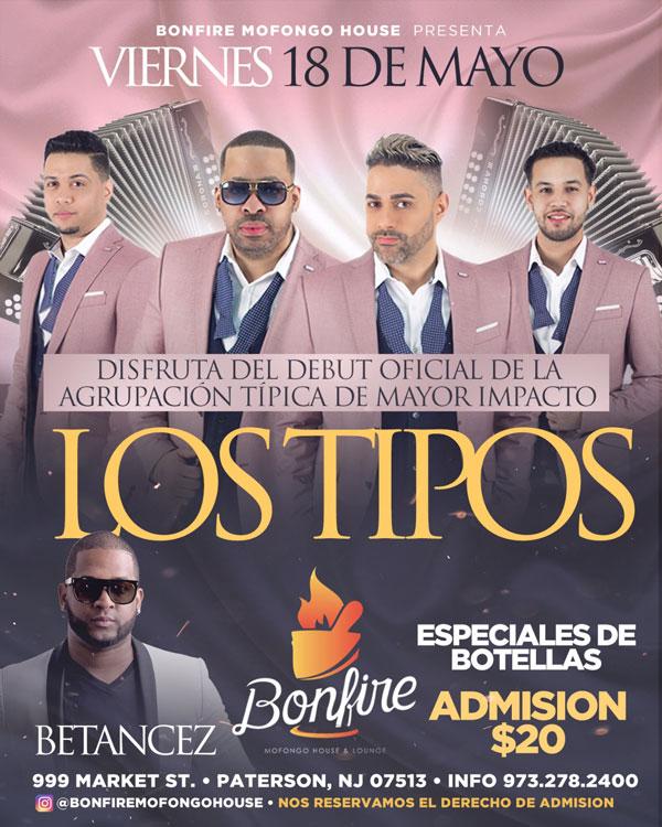 18 de Mayo con LOS TIPOS