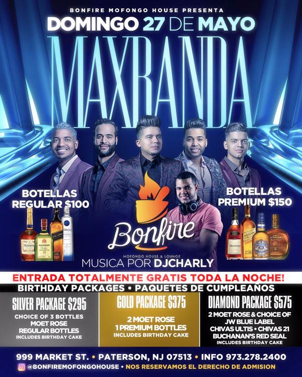 27 de Mayo con MAXBANDA