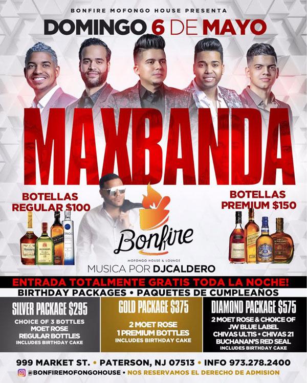 6 de Mayo con MAXBANDA