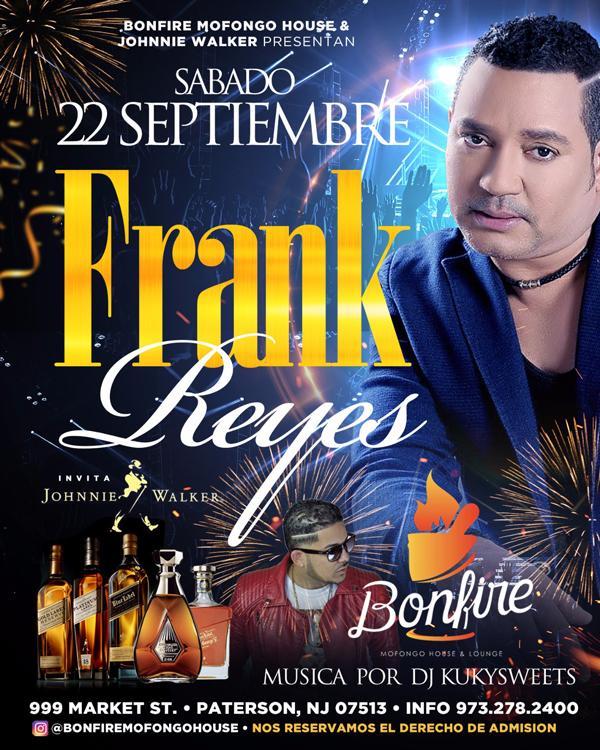 FRANK REYES en BONFIRE