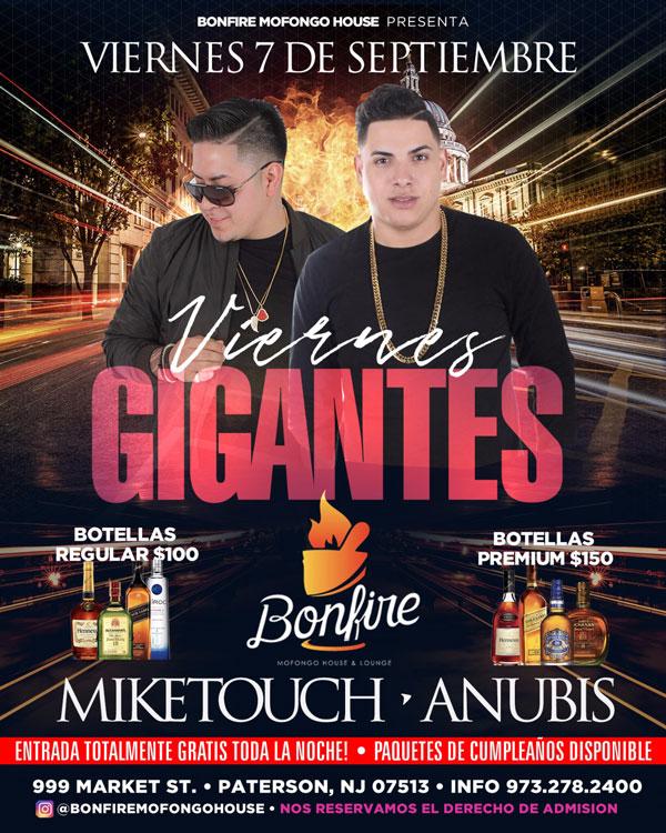 VIERNES GIGANTES - MIKETOUCH x ANUBIS