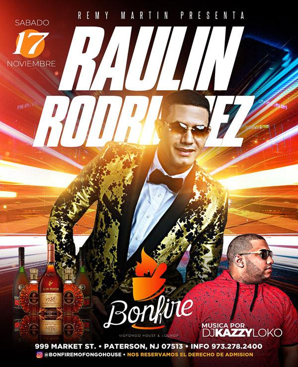 RAULIN RODRIGUEZ en Bonfire