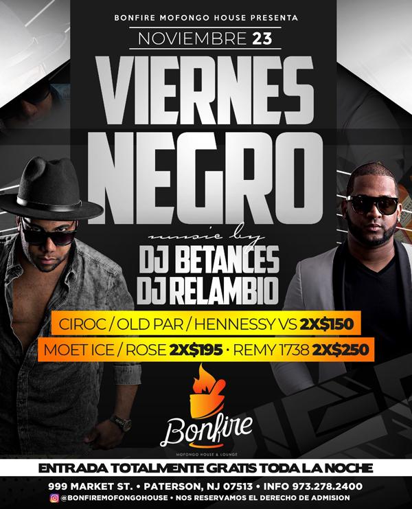 VIERNES NEGRO - DJ BETANCES x DJ RELAMBIO