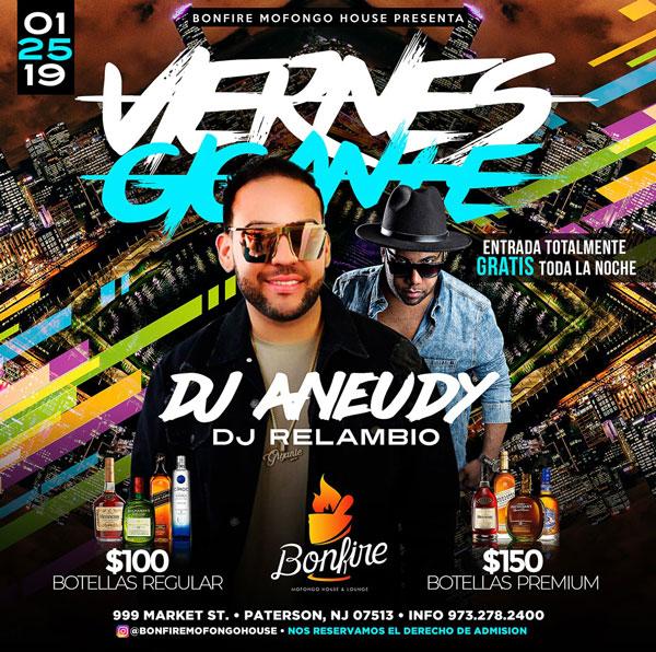 VIERNES GIGANTES - DJ ANEUDY x DJ RELAMBIO