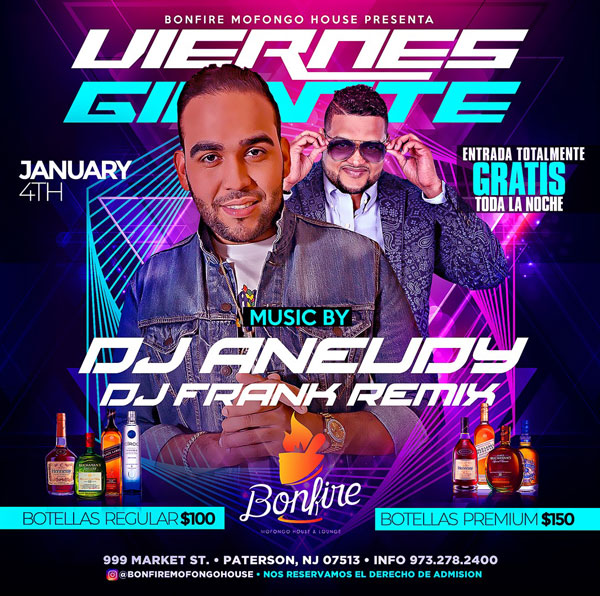 VIERNES GIGANTES - DJ ANEUDY x DJ FRANK REMIX