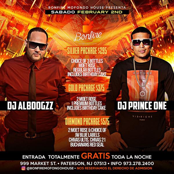 DJ ALBOOGZZ x DJ PRINCE ONE