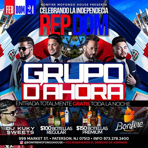 GRUPO D'AHORA - Celebrando la Independencia Rep.Dom