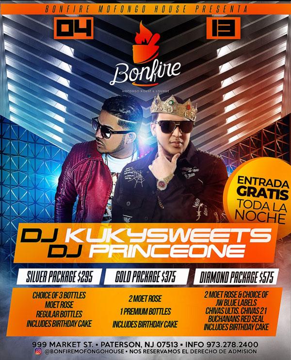 DJ KUKY SWEETS x DJ PRINCE ONE