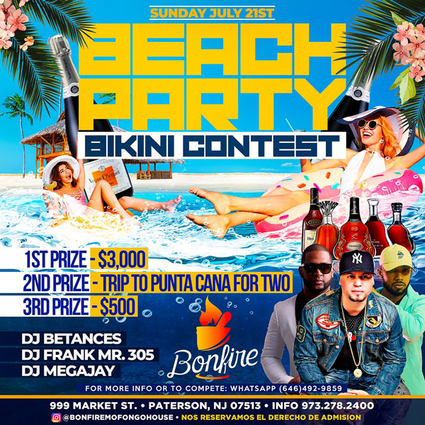 BEACH PARTY con BIKINI CONTEST