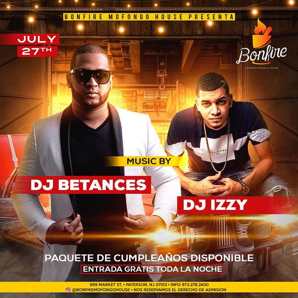 DJ BETANCES + DJ IZZY