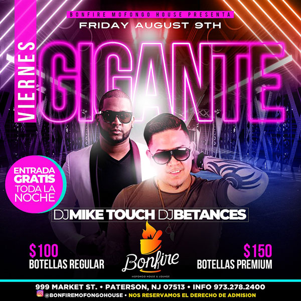 DJ MIKE TOUCH + DJ BETANCES