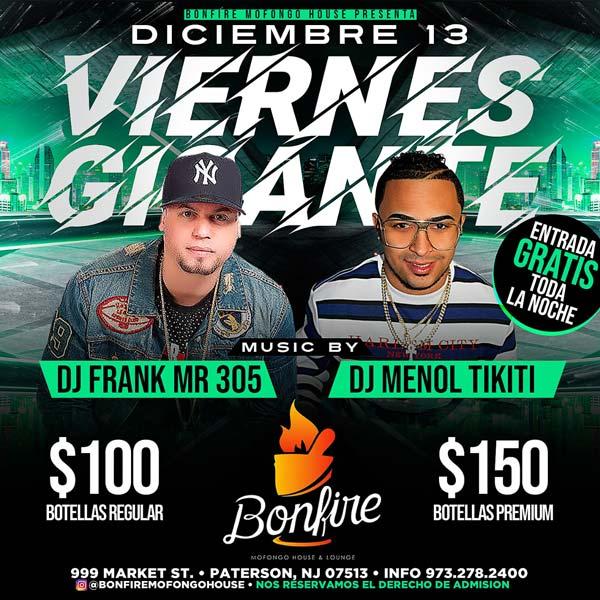 VIERNES GIGANTE - DJ FRANK MR 305 x DJ MENOL TIKITI
