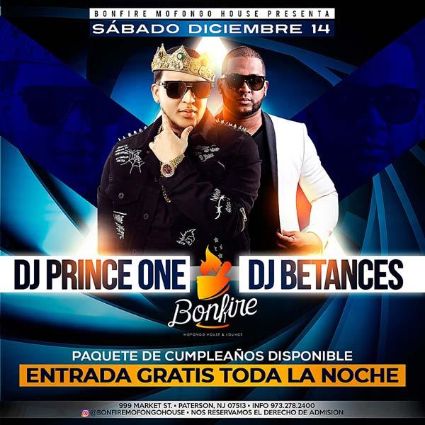DJ PRINCE ONE x DJ BETANCES
