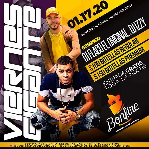 VIERNES GIGANTES - DJ FLACO EL ORIGINAL x DJ IZZY