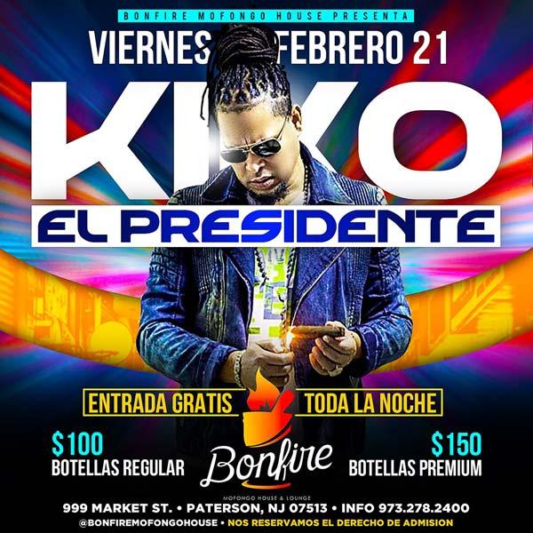 """KIKO """"El Presidente"""""""