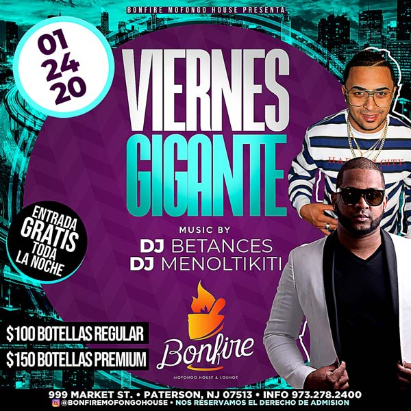 VIERNES GIGANTES - DJ BETANCES x DJ MENOLTIKITI